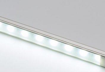 tira de LED 12V branco: instalação e montagem