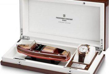 montre suisse « Frédéric Constant ». histoire de la marque