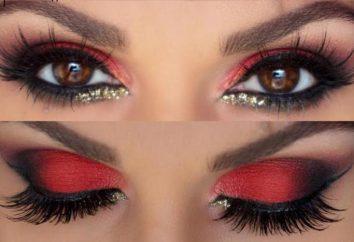 ombre des yeux rouges: comment utiliser la tendance de beauté