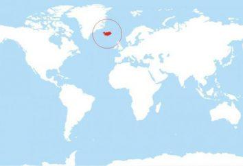 Onde está a Islândia? Esta pergunta é respondida geografia e geologia