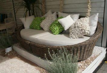 Gartenmöbel: mit ihren Händen einen Platz ausstatten zur Ruhe