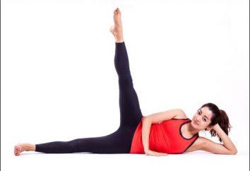 Coup leurs pieds pour perdre du poids et belle figure. Comment lancer leurs pieds?