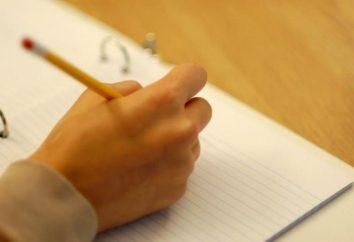 Wie schreibe ich eine Aussage. Wie man lernt, wie man eine Geschichte schreibt