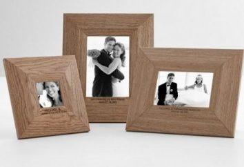 Quelques idées sur ce qu'il faut donner à son mari sur un mariage en bois