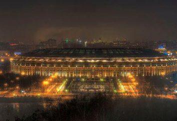 """Luzhniki, die U-Bahn-Station """"Sport"""""""