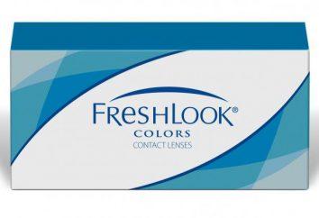 FreshLook obiektyw. Kolorowe soczewki kontaktowe: Opinie