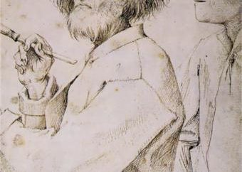 Pinturas Bruegel a pessoa idosa. A vida ea obra do artista