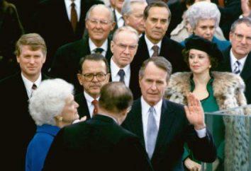 Il presidente degli Stati Uniti Bush padre Dzhordzh