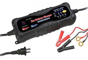 cargadores inteligentes para baterías de automóviles: información general, características, opiniones