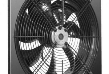 scarico ventilatore assiale usato nell'industria