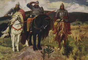 Estudiamos las características artísticas de epopeyas rusas