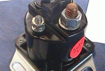 El relé de arranque es el elemento principal de este dispositivo