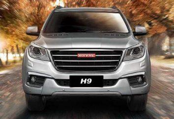 Haval H9: dane techniczne i zdjęcia. Rama SUV. Konfiguracja. Test Drive