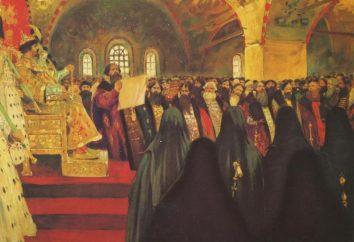 Zemski sobor en 1613: la elección de Mikhail Romanov. El papel de la zemski sobor en Rusia