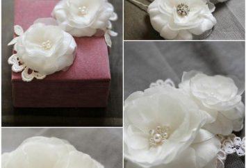 Como fazer flores de seda com suas próprias mãos?