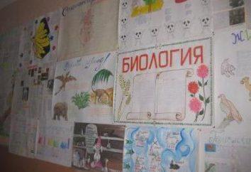 biologie Semaine à l'école: le développement des événements. Quiz, concours, voyages