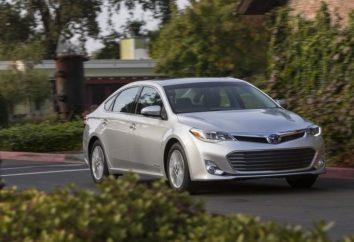 """Przegląd nowego sedana """"Toyota Avalon"""" 2013"""