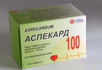 """Il farmaco """"Aspekard"""": istruzioni per l'uso, analoghi, recensioni"""