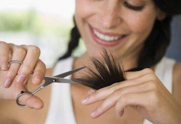 Come tagliare i capelli in sé e non rovinare la forma
