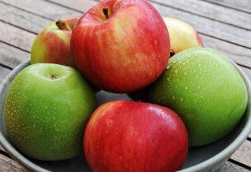 Apple: kaloryczność w 100 gramach. jabłka kalorii, ich zastosowanie i wartość odżywcza