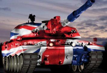 """Tank """"Challenger 2"""" Beschreibung der Konstruktion, Eigenschaften, Schutz Rüstungen, Waffen"""
