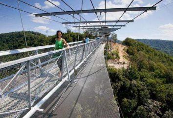 Le plus long pont suspendu au monde à Sotchi