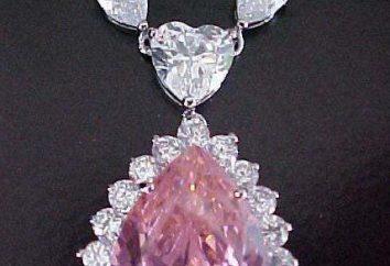 Brilliant pink: die Herkunft des Steines