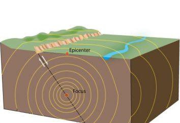 Le cause di terremoti ed effetti. La natura dei terremoti