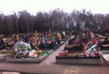 Cmentarz Gorki: opis, usług, mapę lokalizacji