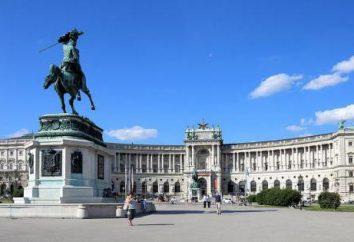 Vienna, Hofburg: descrizione, la storia e fatti interessanti