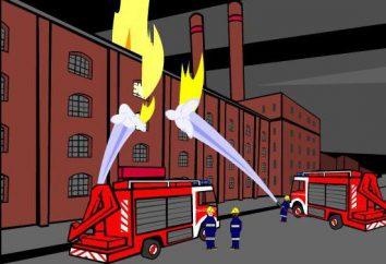 documentos normativos sobre segurança contra incêndio para todos os tipos de empresas de propriedade