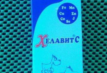 """""""Helavit C"""" (dla psów) instrukcje użytkowania i funkcje efektywności"""
