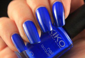 Nail design blu: idee interessanti, in particolare la combinazione e le raccomandazioni