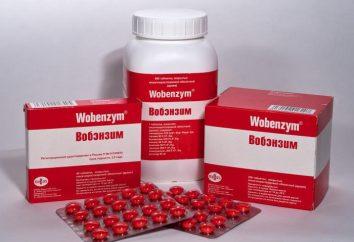"""Drug """"Wobenzym"""". Recensioni dei medici. istruzione"""