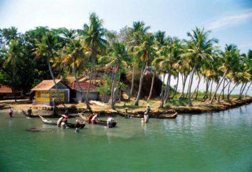 India, Kerala. Vacanze in Kerala (India). Kerala (India) sulla mappa