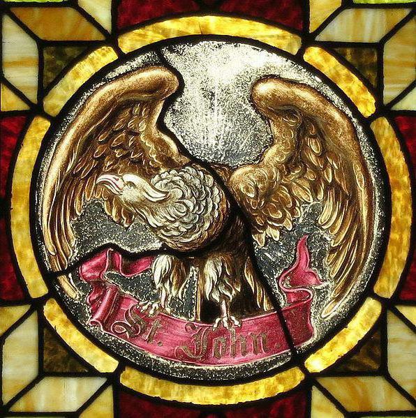 vier evangelisten und ihre symbole