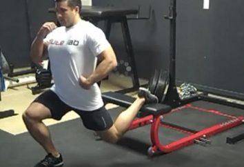 squats bulgares. exercice universel