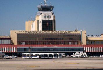 Aéroport de Barajas (Madrid): terminaux d'arrivées, le circuit et la distance à Madrid. Comment se rendre de l'aéroport au centre de Madrid?