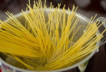 Rada dla gospodyń domowych, jak gotować spaghetti, żeby nie trzymać się razem