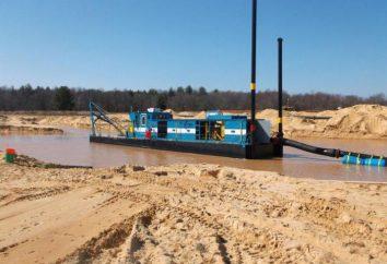 La draga per estrazione di sabbia: il principio di funzionamento e le tipologie di