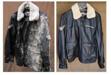 O que e como pintar a jaqueta de couro em casa