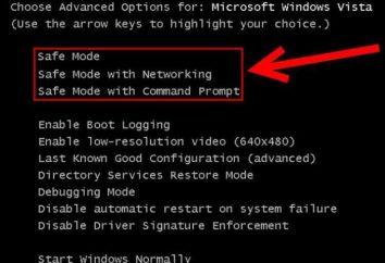 Como reiniciar o computador no modo de segurança: a instruções detalhadas
