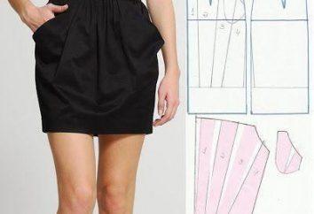 Wie sind die Muster Röcke-Tulpen? Grundlagen der Erstellung Kleid mit Tulpenrock