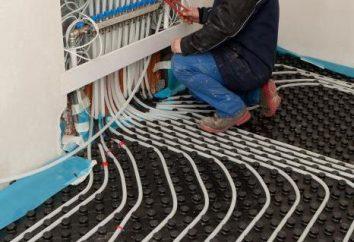 Profilowane maty montażowe do wody ogrzewania podłogowego