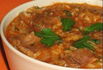 Come preparare la zuppa grub? Ricetta con patate e riso