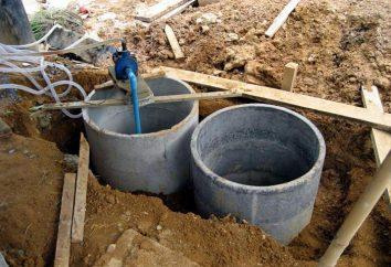 Le dispositif sans jeu placards. Toilettes dans une maison privée avec une fosse d'aisance
