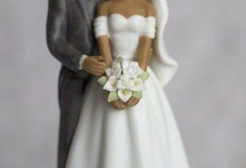figurka ślub na ciasto: stylowe akcesoria