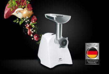 Fleischwolf Braun G3000: Bewertung, Foto, Bewertungen