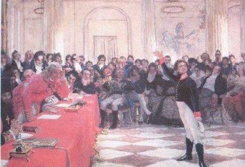 fase interessante da vida e obra de gênio: Pushkin estudante Lyceum (1811-1817 biênio).