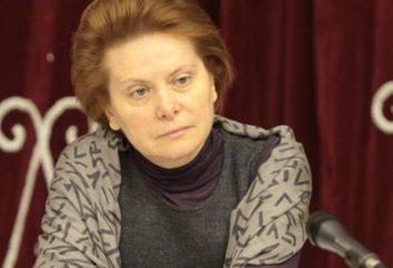Natalia Komarova – Governatore di Khanty-Mansiysk. biografia